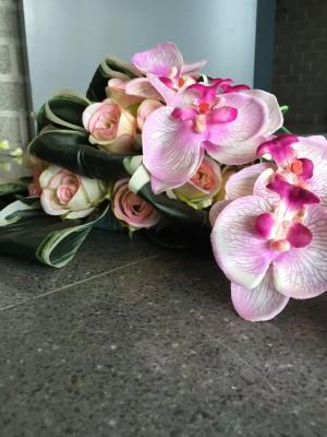 Rouwbloemen - zijden of naturel